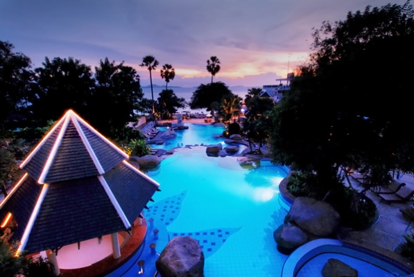 Long Beach Garden Hotel Spa Pattaya Thailand